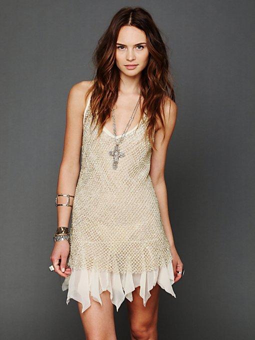 Golden Enchantment Slip Dress