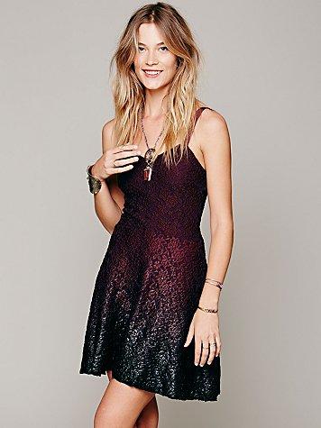 Ombre Foil Dress