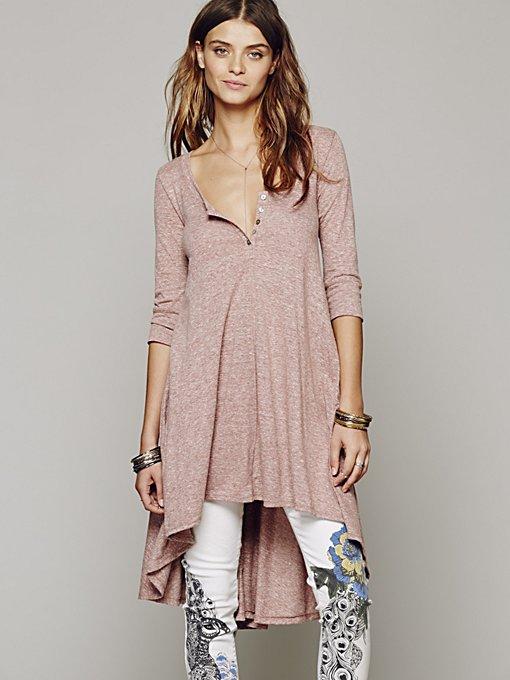 Drippy Jersey Dress