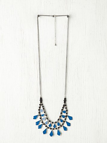 Geo Enamel Necklace