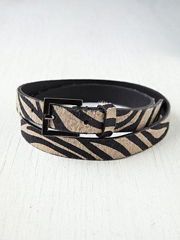 Skinny Animal Belt