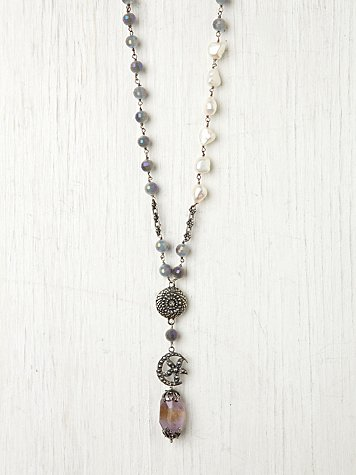 Floral Moon Rosary