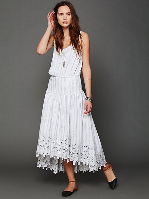 FP New Romantics Pantry Stripe Dress