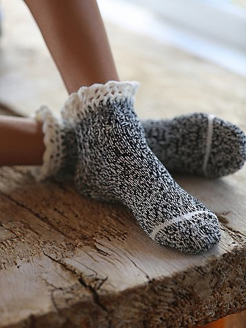 Short Heathered Highland Boot Sock