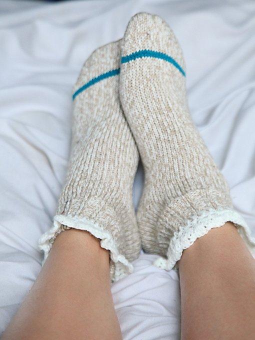 Short Heathered Highland Boot Sock