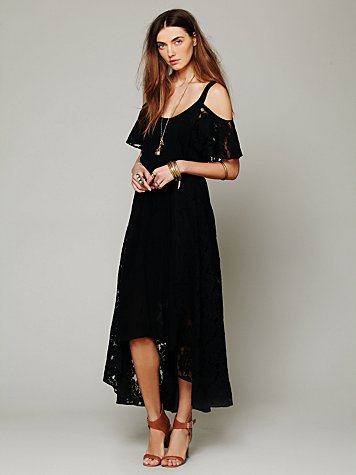 Moonlight Off the Shoulder Dress