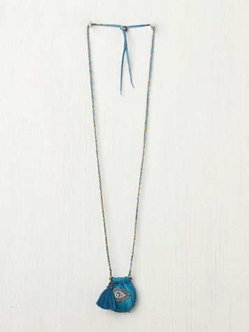 Pouch and Tassel Pendant