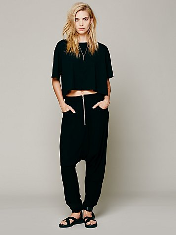 Black Rebel Harem Pant