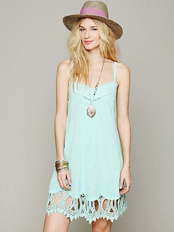 Sleeveless Pintuck Hem Dress