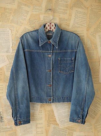 Vintage Blue Denim Jacket
