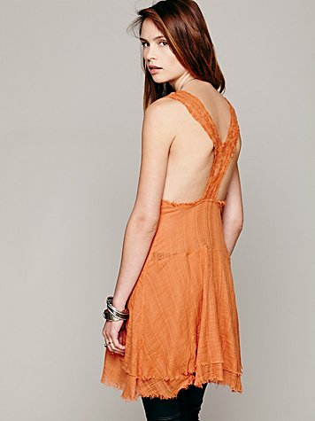 Apron Back Dress