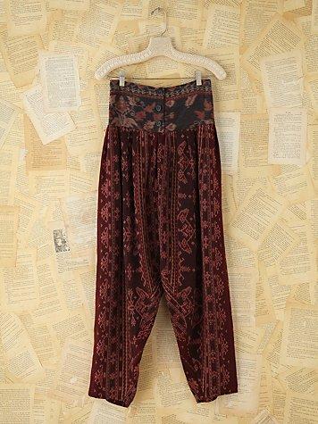 Vintage Ikat Pants