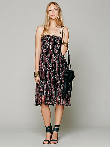 Jessie's Floral Swing Dress