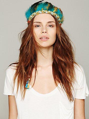 Ettika Feather Headdress