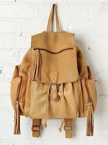 Harper Leather Backpack