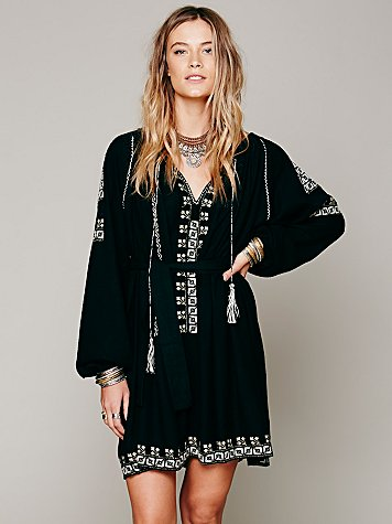 Felicia Embroidered Dress