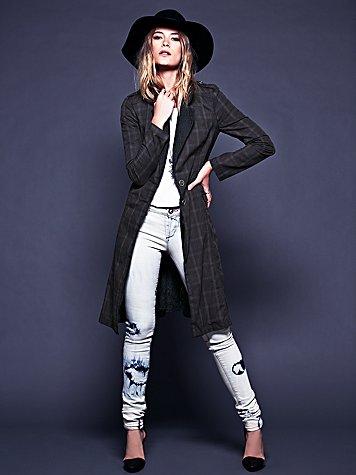 Lace Lapel Menswear Jacket