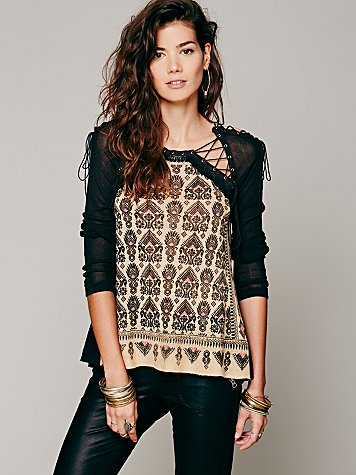 FP New Romantics Bird In Hand Tunic