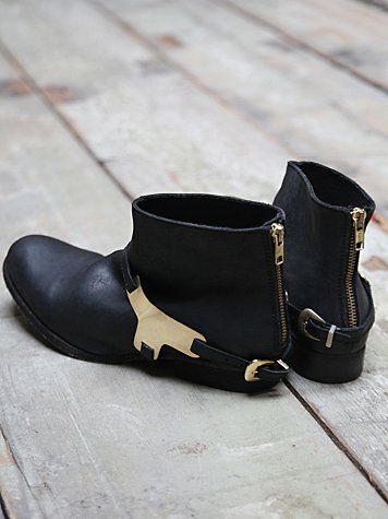 Devout Metal Harness Boot