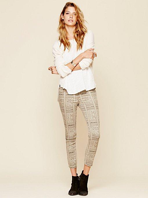 Isla Printed Skinny Jeans