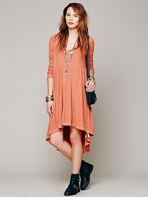 Comfy Hooded Dress