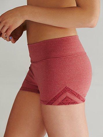 Geo Insert Yoga Shorts