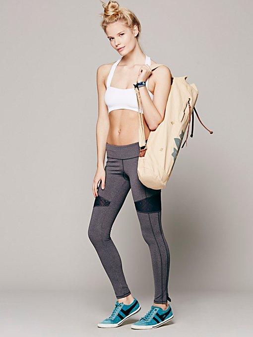 Lace Mix Yoga Pant