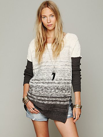 Oversize Pattern Pullover
