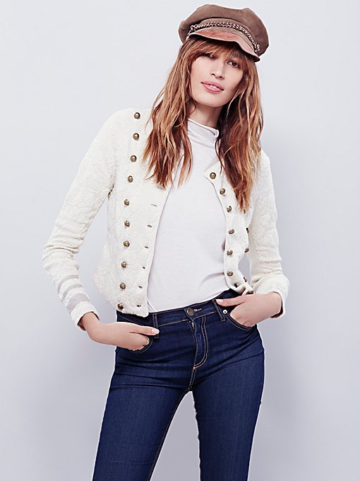 In The Band Textured Jacket