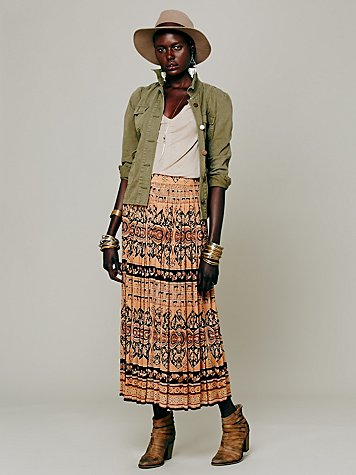 Easy Grooves Printed Maxi