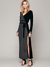 FP New Romantics Referee Maxi Dress