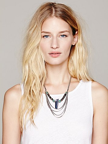 Paint The Sky Statement Necklace