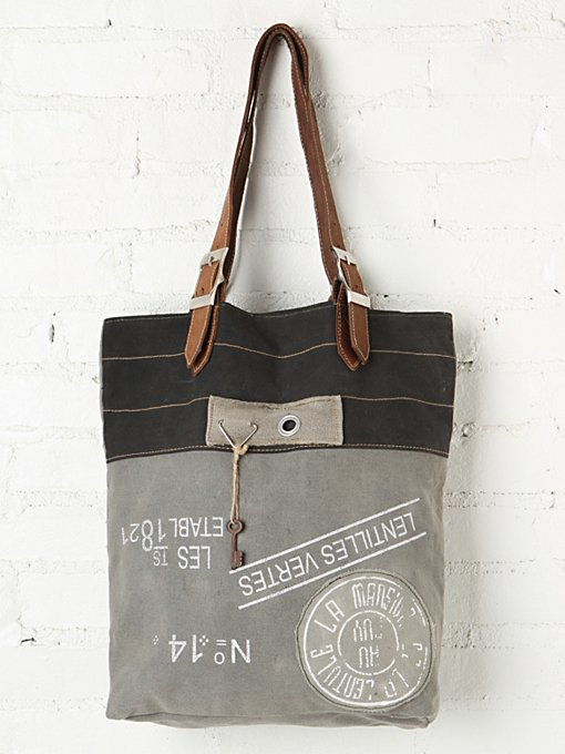Washed Fielder Tote