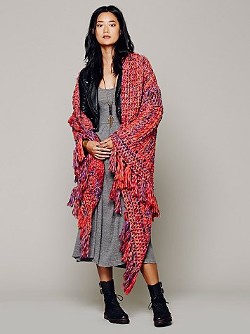 Knitted Meena Shawl