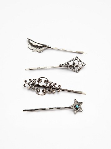4 Pack Of Hair Pins