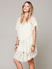 Hill Country Lace Up Dress