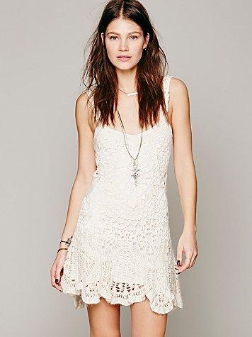 Radiance Crochet Dress