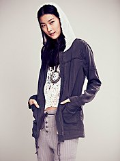 One Stop Tencel Hooded Jacket