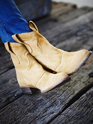Watercolor Ankle Boot