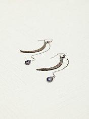 Moon Crescent Earring