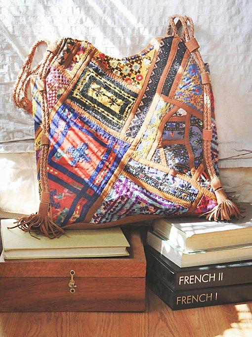 Tapestry & Tassel Tote