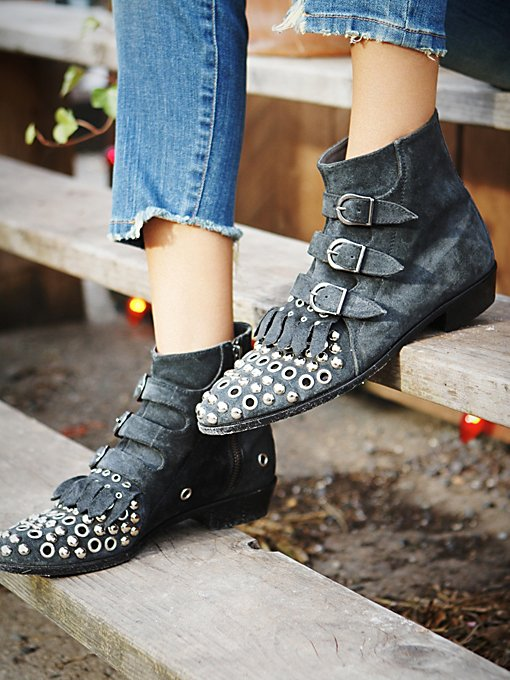 Arianna Grommet Boot