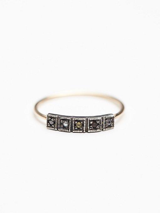 5 Stone Ring