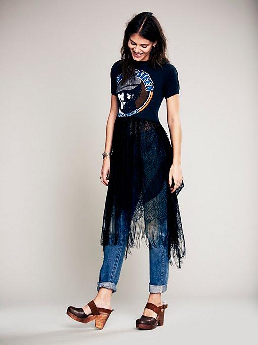 Limited Edition T-Shirt Renewal Fringe Dress