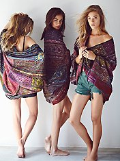 Travelled History Statement Kimono