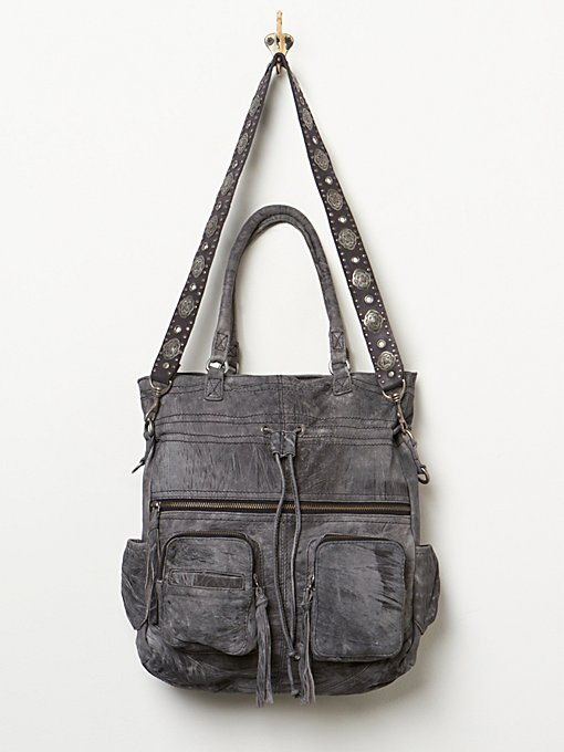 Washed Axel Tote