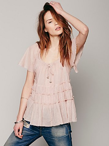Athena Tiered Top