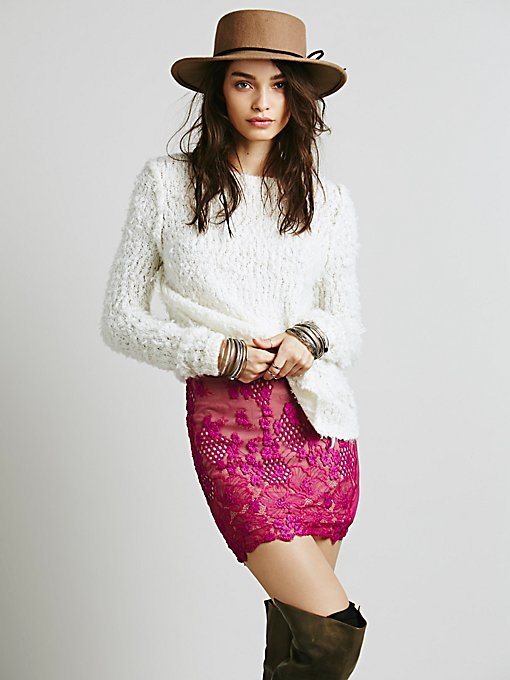 Flower Bomb Slip Skirt