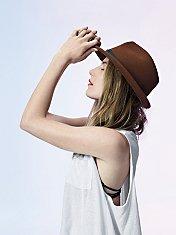 Felt Porkpie Hat