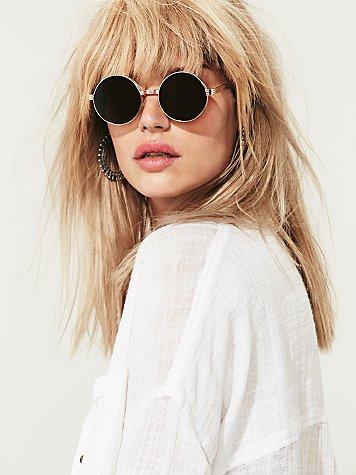 Olsen Round Sunglass